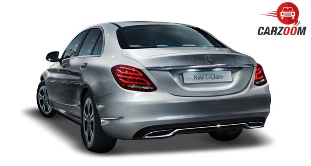 Mercedes Benz New C-Class Back