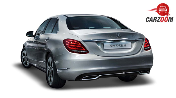 Mercedes Benz New C-Class Back