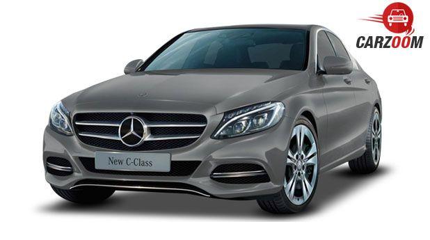 Mercedes Benz New C-Class Front