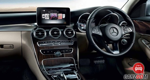 Mercedes Benz New C-Class Interior