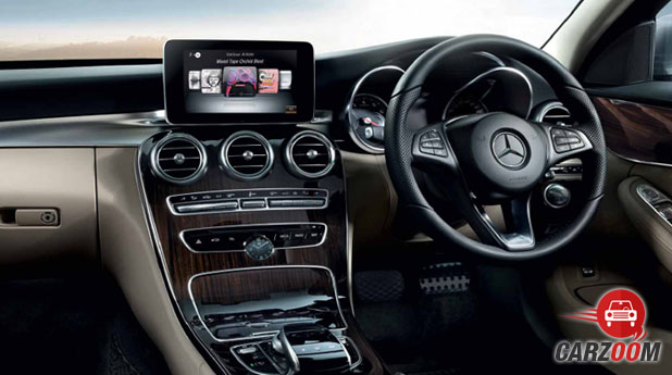 Mercedes Benz New C-Class Interior