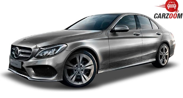 Mercedes Benz New C-Class Side View