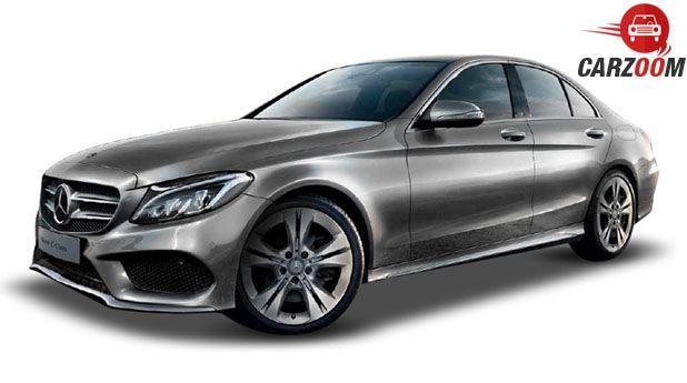 Mercedes Benz New C-Class Side View
