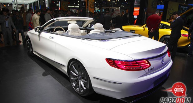 Mercedes-Benz S-Class Cabriolet Back View