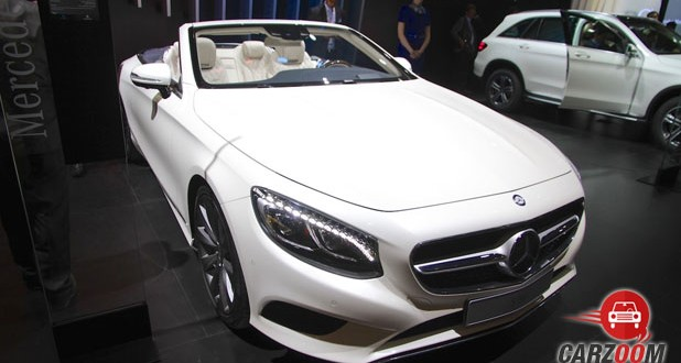 Mercedes-Benz S-Class Cabriolet Front View