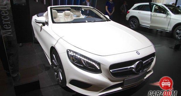 Mercedes-Benz S-Class Cabriolet Front View