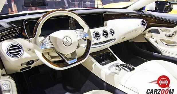 Mercedes-Benz S-Class Cabriolet Interior