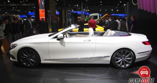 Mercedes Benz S-Class Cabriolet Side View