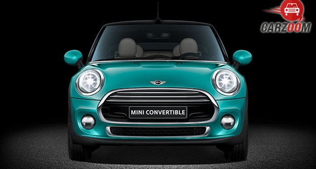 New Mini Cooper Convertible Front