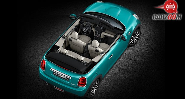 New Mini Cooper Convertible Upper View