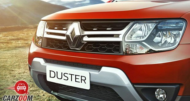 New Renault Duster Front