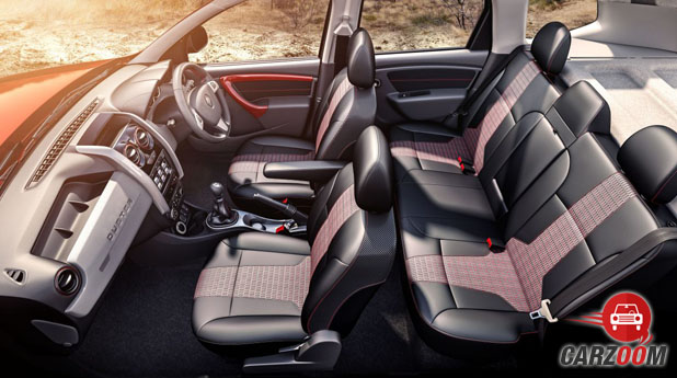 New Renault Duster Interior