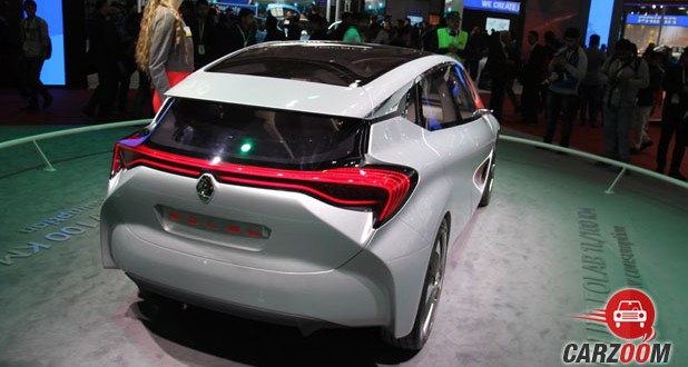 Renault Eolab Concept Back View