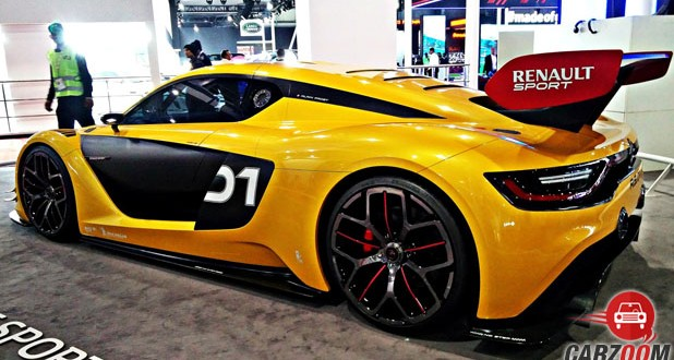 Renault Sport RS01 Back View