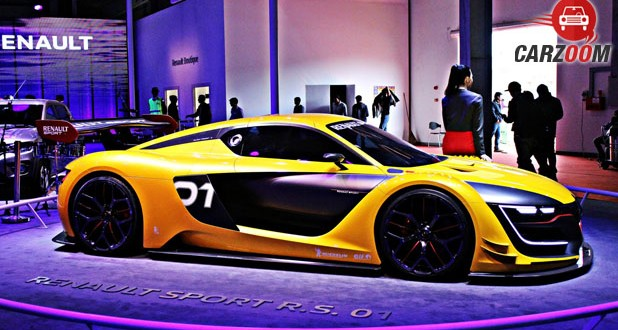 Renault Sport RS01 Side View