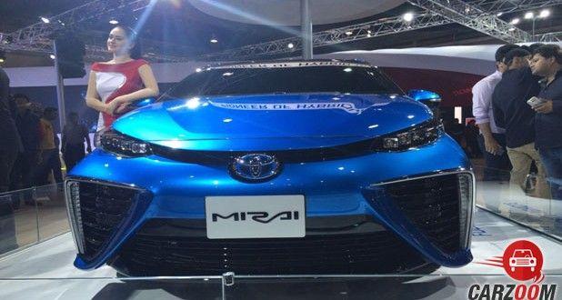 Toyota Mirai Front View
