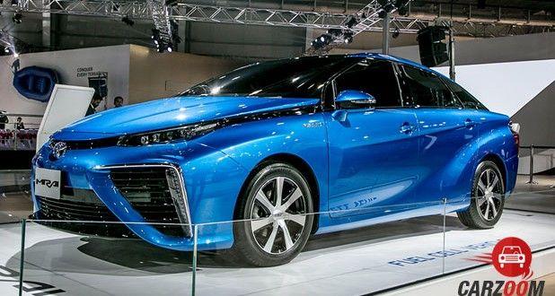 Toyota Mirai Side View