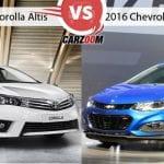 New Toyota Corolla Altis Vs Chevrolet Cruze