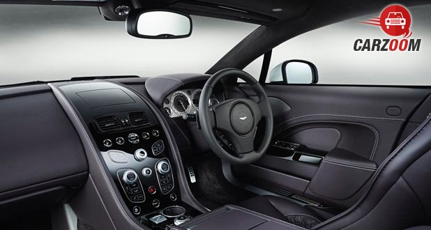 2016 Aston Martin Rapide Dashboard View