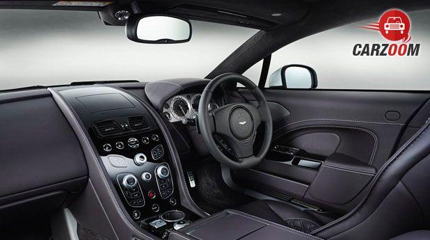 2016 Aston Martin Rapide Dashboard View