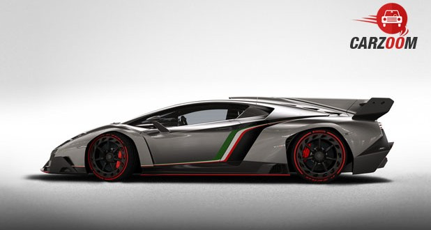 Lamborghini Veneno Side View