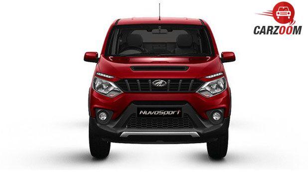 Mahindra NuvoSport Front View