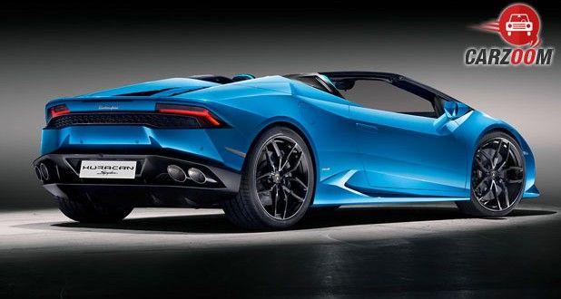 Lamborghini Huracan LP 610-4 Spyder Back