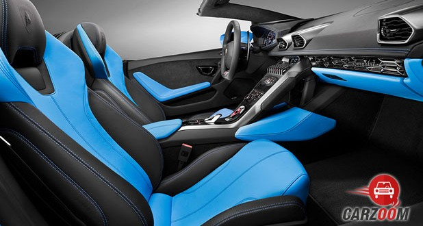 Lamborghini Huracan LP 610-4 Spyder Interior