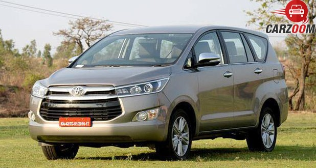 Toyota Innova Crysta Exterior
