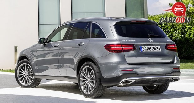 Mercedes Benz GLC Back View