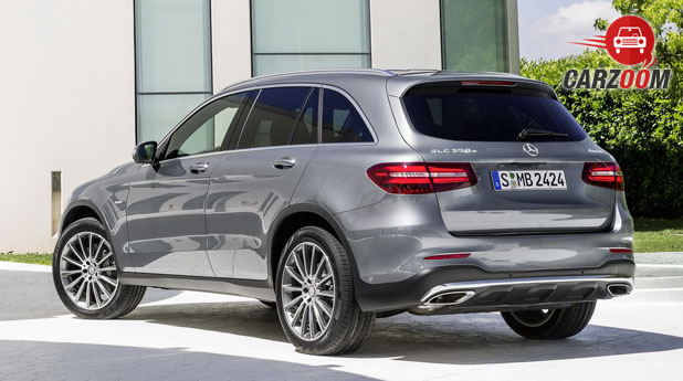 Mercedes Benz GLC Back View