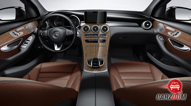 Mercedes Benz GLC Interior View
