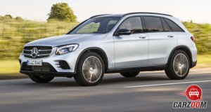 Mercedes Benz GLC Side View