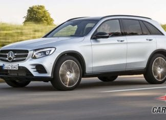 Mercedes Benz GLC Side View