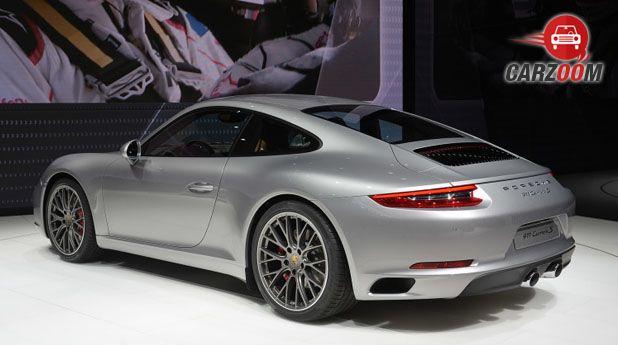 Porsche 911 Back View