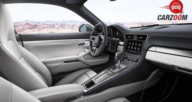 Porsche 911 Interior View