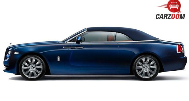 Rolls-Royce Dawn Side View