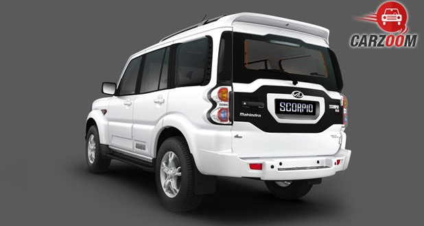 Mahindra Scorpio Intelli Hybrid Back View