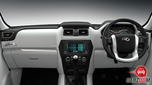 Mahindra Scorpio Intelli Hybrid Dashboard