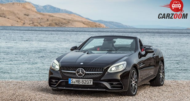 Mercedes-Benz AMG SLC Front View