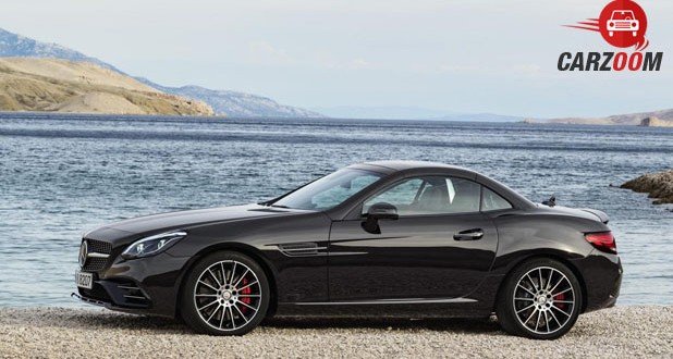 Mercedes-Benz AMG SLC Side View