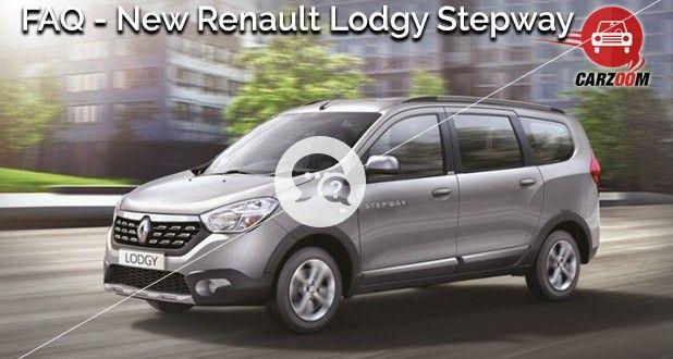 New Renault Lodgy Stepway FAQ