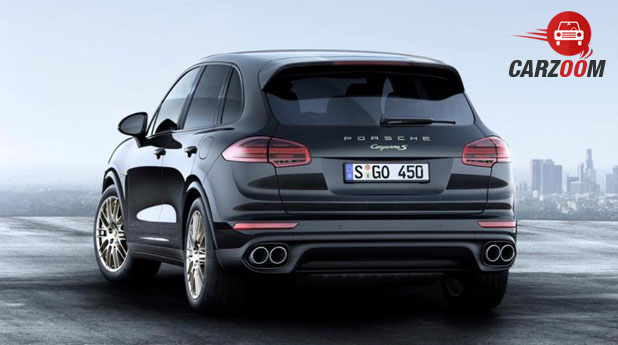 Porsche Cayenne Platinum Edition Back