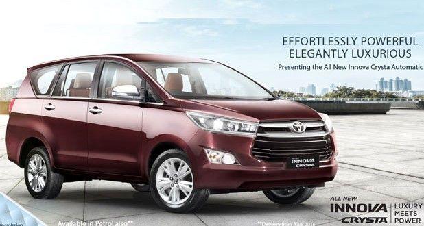 Toyota Innova Crysta Petrol