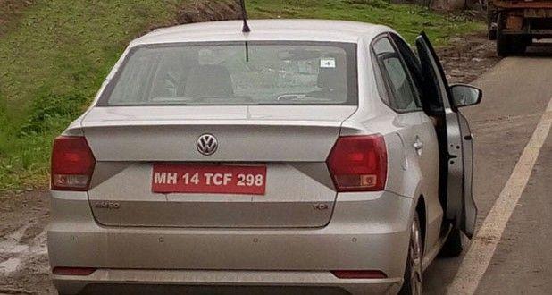 Volkswagen Ameo Spied