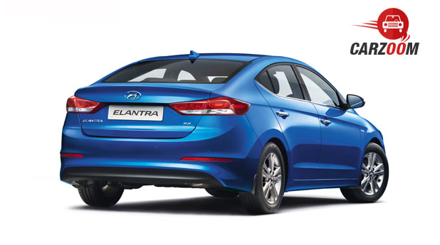 2016 Hyundai Elantra Back View