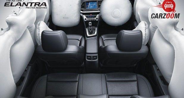 2016 Hyundai Elantra Interior View