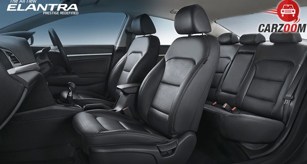 2016 Hyundai Elantra Seats View