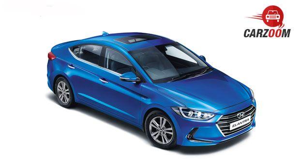 2016 Hyundai Elantra Upper View
