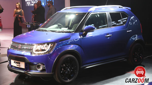 Maruti Suzuki Ignis Side View